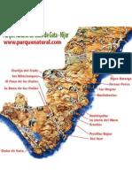 Mapa Cabo de Gata
