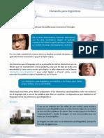 Elementos Paralinguisticos