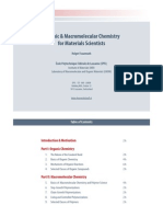 Organic MacroMolecular Chemistry for Materials Scientists