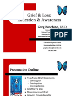 Greg Bocchino - Grief and Loss Powerpoint