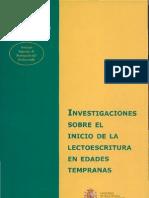 Investigacion Sobre El Inicio de La Lectoescritura