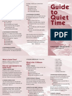 Guide to Quiet Time