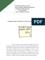 texto educação e filosofia 1