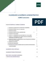 UNED Calendario Academico Administrativo 2013 2014 v4