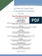PEG Case Tcs Operating Tactics Reduce Costs Retain Customers
