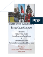 Battle color ceremony
