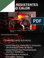 AÇOS RESISTENTES AO CALOR