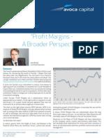 Profit Margins Investor Letter