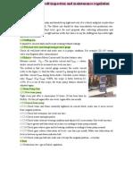 Beam Pump Inspection Regulation