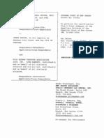 Tumpson v. Farina Petition for Certification