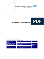Staff Induction Policy::::Praveenkumar