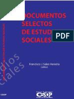 Documentos Selectos Estudios Sociales