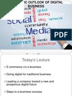 Strategic Outlook of Digital Business
