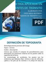 PLANIMETRÍA APLICADA EN ACCIDENTES DE TRÁNSITO I