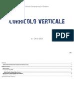 Curricolo_IC Siziano - Programmazione d'Istituto in verticale