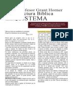 professor grant horners bible reading system ESPAÑOL