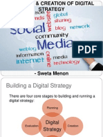 Planning & Creation of Digital Strategy