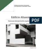 Edificio Altamira - Monografia