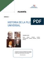 Semana 3_Historia de la Filosofía Universal