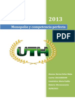 Resumen de Monopolio y Competencia Perfecta
