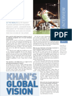 Jahangir Khan Interview