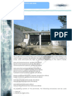 Penstock and Weirs