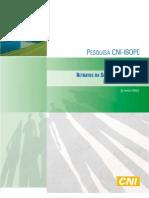 Pesquisa CNI-IBOPE Retratos da Sociedade Brasileira Inclusão Financeira Jun 2012