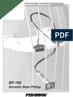 Fishman Vass BP-100OwnersManual