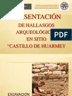 Presentación Proyecto Arqueologico - Castillo de Huarmey 2013