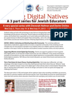 Raising Digital Natives Summer 2013 Flyer Final1
