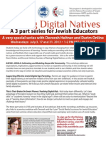 Raising Digital Natives Webinar Series 2013