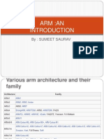 ARM introduction with reference to arm 11