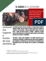 CARTOGRAFÍA SONORA DE LA ARAUCANÍA dossier