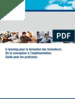 E-learning pour la formation des formateurs. De la conception à l'implémentation. Guide pour les praticiens.