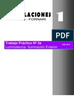 Instalaciones 1 Pavon Fornari Tp3 Luminotecnia
