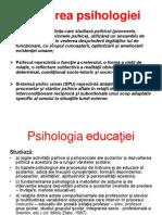 rolul psihologiei educatiei