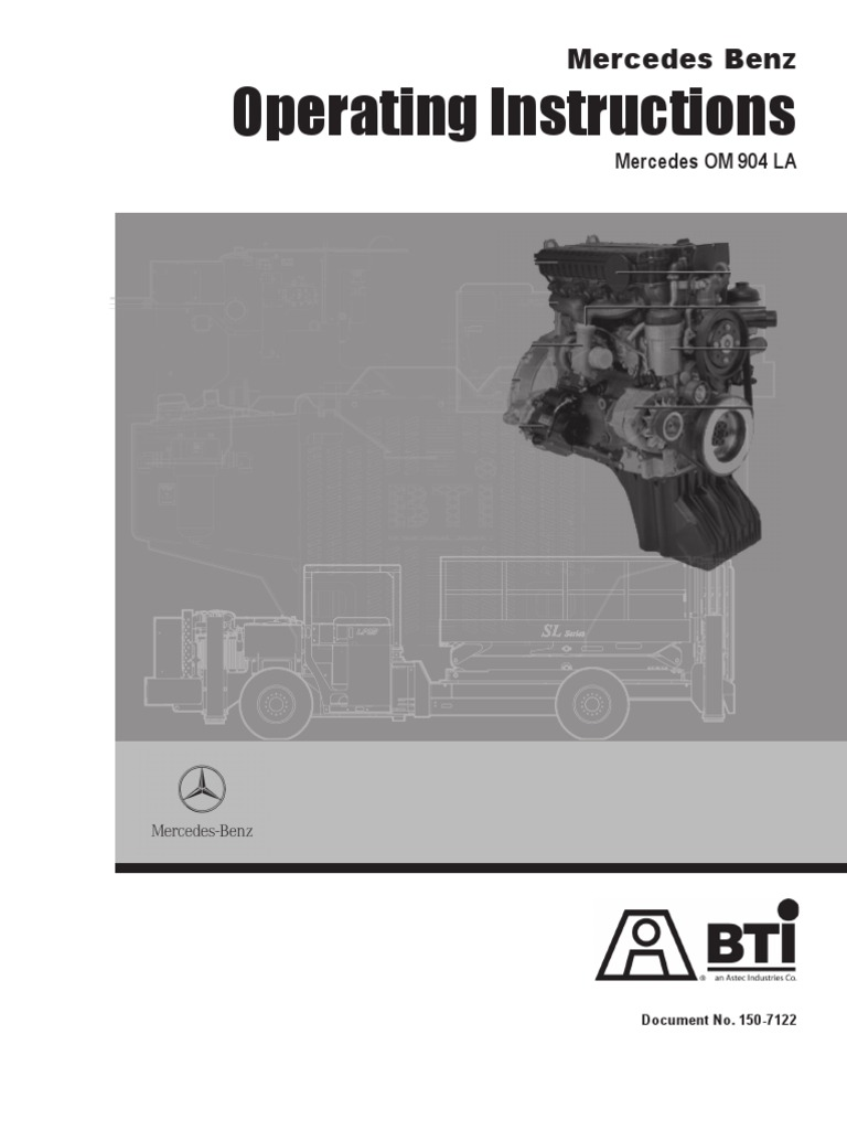 150 7122Meredes Benz 904 Engine Service Manual | Vehicles | Internal  Combustion Engine