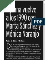 Mónica Naranjo - Vidas Latinas - 22 al 28 de junio