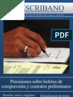 Boleto y Otros Contratos Preliminares