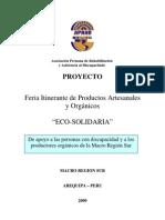 Proyecto Eco Solidaria