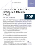 La Educacion Sexual Es Prevencion Del Abuso Sexual