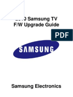 2010 Firmware Upgrade Instruction for PDP T-VALAUSC