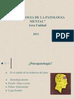 1 Ppt Semiologia Pat Mental Upv 2013