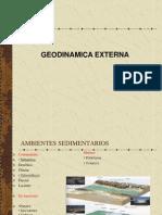 GEODINAMICA EXTERNA SISTEMAS 2013