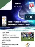 UEFA Study Group Report - Czech Republic 2013