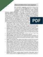 Alvarion Embedded Software License Agreement
