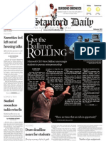 05/07/09 The Stanford Daily [PDF]
