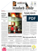 02/04/09 The Stanford Daily [PDF]