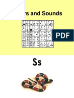 Letters and Sounds Actions Powerpoint
