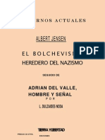 El Bolchevismo Heredero Del Nazismo - A. Jansen